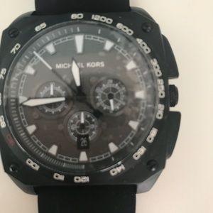 1f42e9ceff94 Michael Kors Accessories - Silicone Grandstand Chronograph Sandblasted Dial